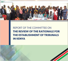 report committee establishment tribunals