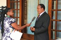 Chair-Kenya-Law-Reform-Commission-conducting-an-interview-with-a-venercular-radio-station-during-the-ALRAESA-conference