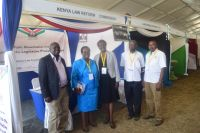 Commissioner-Njoki-Kahiga-and-other-staff-at-devolution-conference